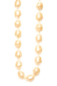 Givenchy GIVENCHY Cream Faux Pearl Necklace