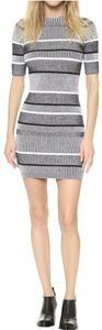 T by Alexander Wang short dress grey on Tradesy
