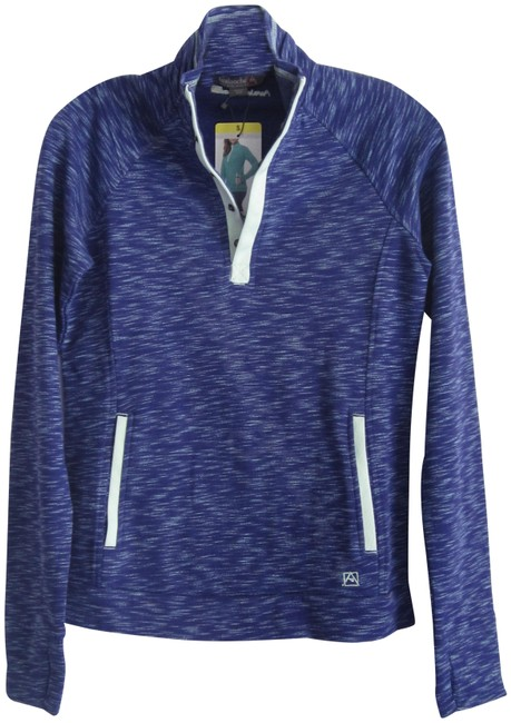 Item - Aster Purple Bay Loma Snap Mock Thumbhole Outdoor Sweat Style No. 1140953 Activewear Size 6 (S)