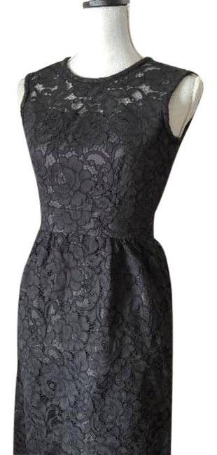Kate Spade Black Lace Mid-length Cocktail Dress Size 00 (XXS) Kate Spade Black Lace Mid-length Cocktail Dress Size 00 (XXS) Image 1