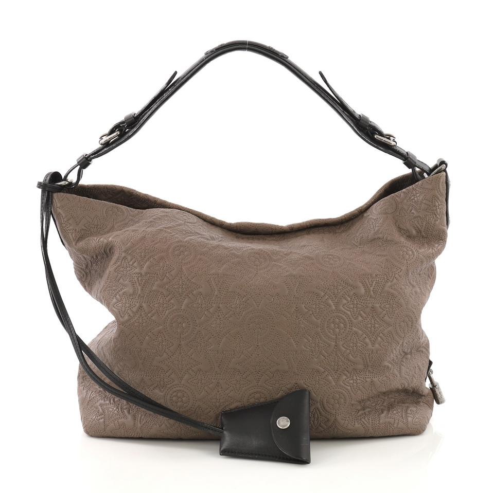 bb80d1a52ba5 Louis Vuitton Antheia Pm Taupe Leather Hobo Bag - Tradesy