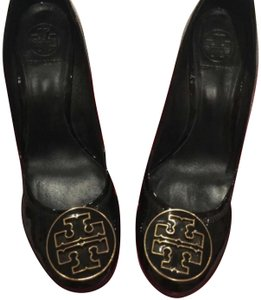 147353abda91 Black Tory Burch Wedges - Up to 90% off at Tradesy