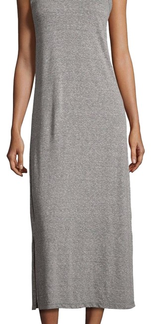 Item - Grey Perfect Muscle Long Casual Maxi Dress Size 8 (M)