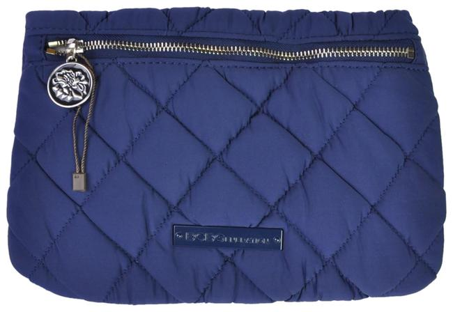 Item - Quilted Soft Purse Blue Clutch