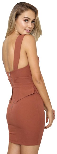Item - Rust Short Night Out Dress Size 8 (M)