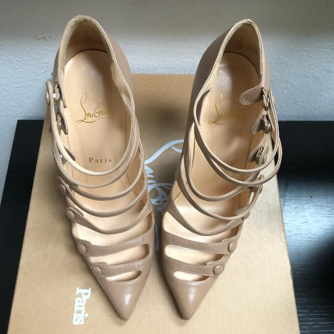 Christian Louboutin Nude Classic Pigalle Follies 55mm