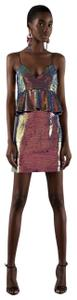 Zara short dress Multicolored on Tradesy