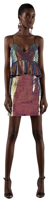 Preload https://img-static.tradesy.com/item/24905837/zara-multicolored-sequin-short-casual-dress-size-2-xs-0-1-650-650.jpg