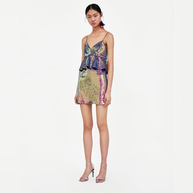 Zara short dress Multicolored on Tradesy Image 1