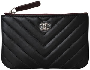 ba0cedd6ce15 Chanel Black Mini O Case Wallet - Tradesy
