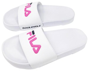 SoulCycle white Sandals
