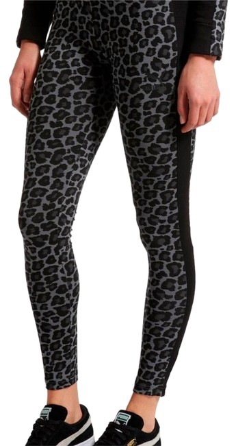 Item - Grey and Black Wild Pack T7 Activewear Bottoms Size 16 (XL, Plus 0x)