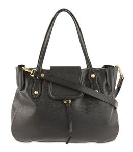 Annabel Ingall Leather Camilla Satchel in black