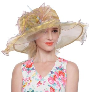 Wedding Hat Dress Formal Dressy wedding Church Tea party Hat