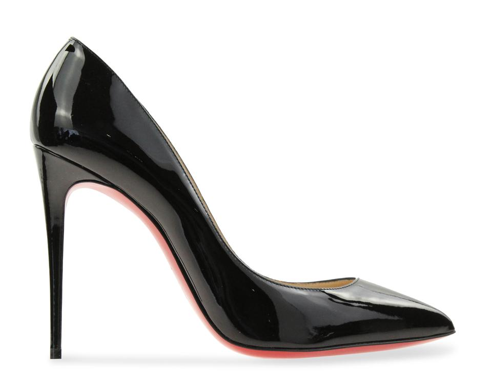 e2f93b56a39 Christian Louboutin Black Patent Leather Pigalle Follies Pumps Size EU 39  (Approx. US 9) Narrow (Aa, N) 10% off retail