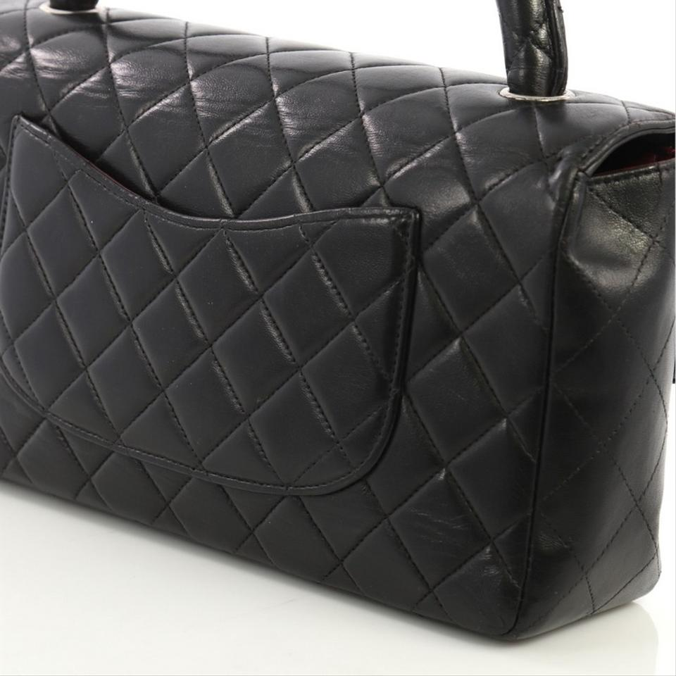 069c4053f985 Chanel Bag with Classic Flap Vintage Twin Top Handle Quilted Medium ...