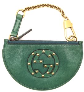 Gucci Gg Soho stud Logo Key Cles Chain clasp coin change holder walllet