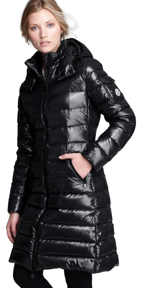 48f4f725c Moncler Black Women Moka Shiny Puffer Jacket Coat Size 2 (XS) 15% off retail
