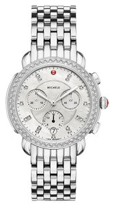 Michele Michele Sidney Diamond Dial Chronograph Ladies Watch (MWW30A000001)