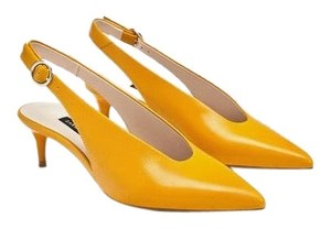 b146fea61fb2 Women s Yellow Zara Shoes - Up to 90% off at Tradesy