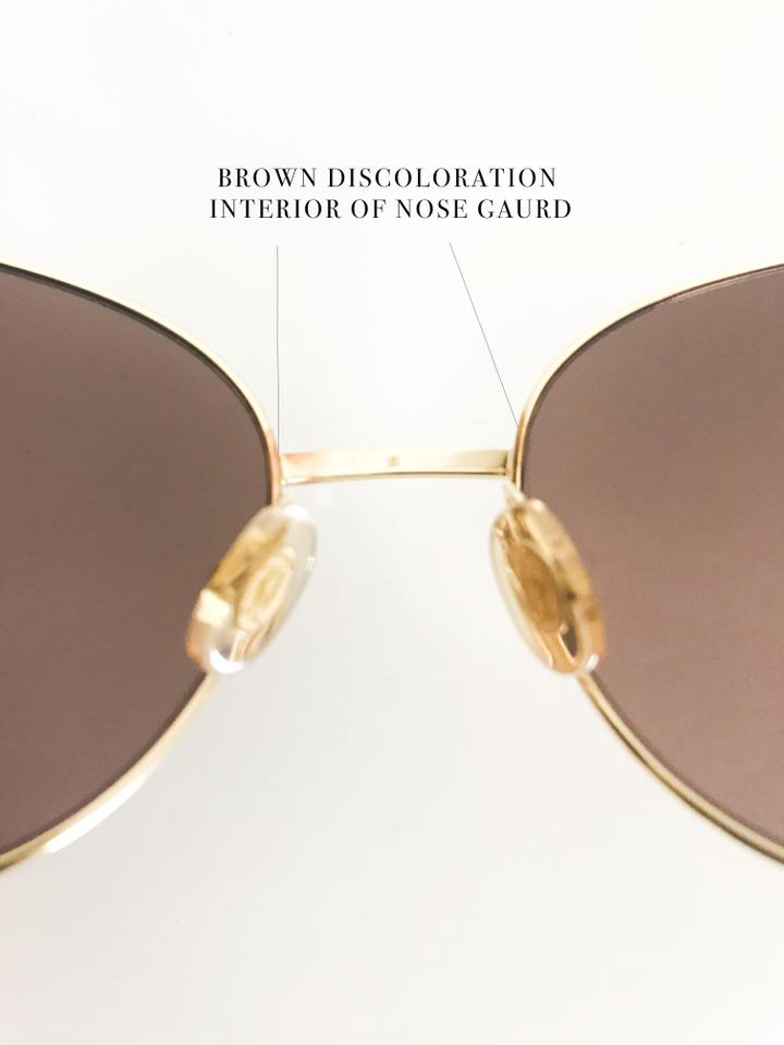 cc7fa1bff43 Cartier Gold Frame Brown Lenses Limited Edition Panther with Green Eye  Stones Sunglasses