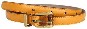 Gucci New Authentic Gucci Women Belt w/Bamboo Buckle Size 80/32 339065 7804