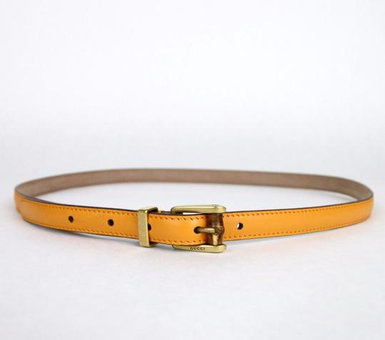 Gucci New Authentic Gucci Women Belt w/Bamboo Buckle Size 80/32 339065 7804 Image 1