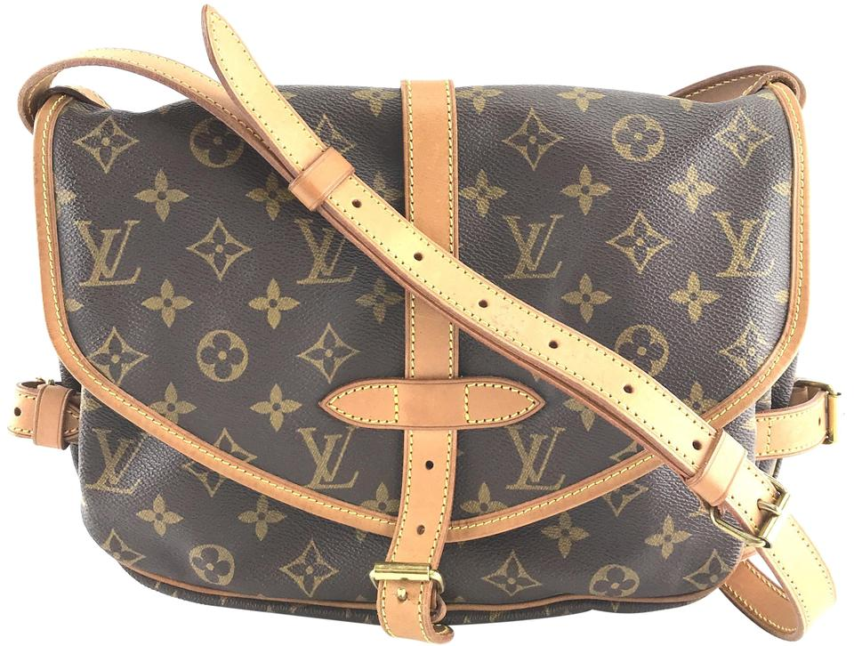 Louis Vuitton Saumur  27822 30 Messenger Diaper Strap Shoulder ... 837b68d33c6f8