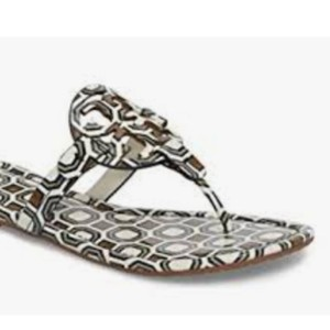 b10f80d78ee7 Tory Burch Box included Sandals · Tory Burch. Box Included Ivory Patent  Leather Miller Sandals