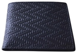 Tommy Bahama Chevron Embossed Leather Wallet