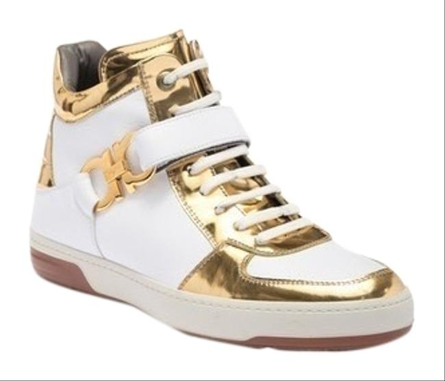 Item - White Gold Nayon Sneakers Size US 11 Wide (C, D)
