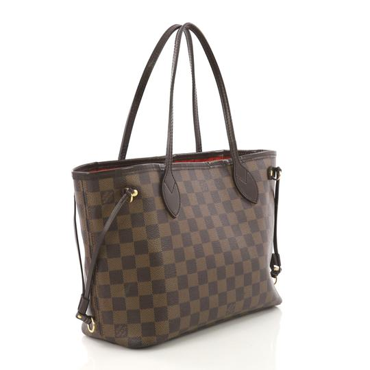 Louis Vuitton Canvas Tote in damier ebene