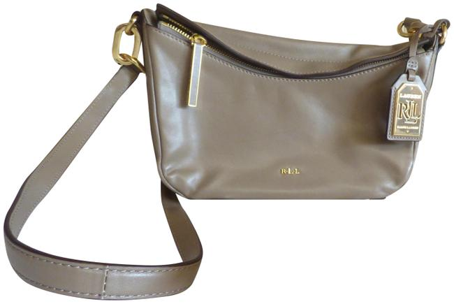 Item - Bramfield Cait Truffle Leather Cross Body Bag