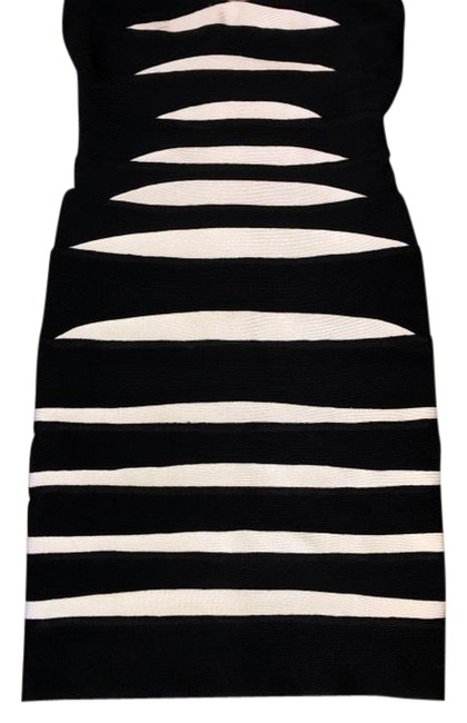 Item - Black and White Short Night Out Dress Size 2 (XS)