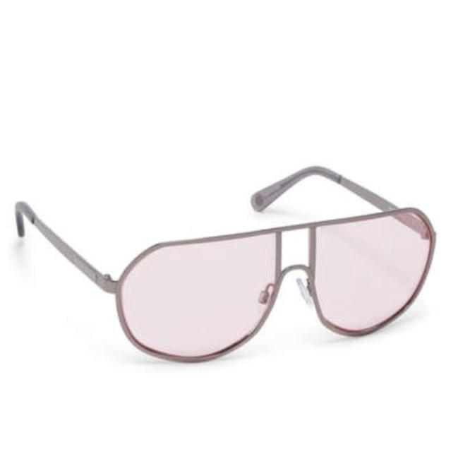 Item - Silver with Pink Lenses Skyler Aviation Glasses Hair Accessory