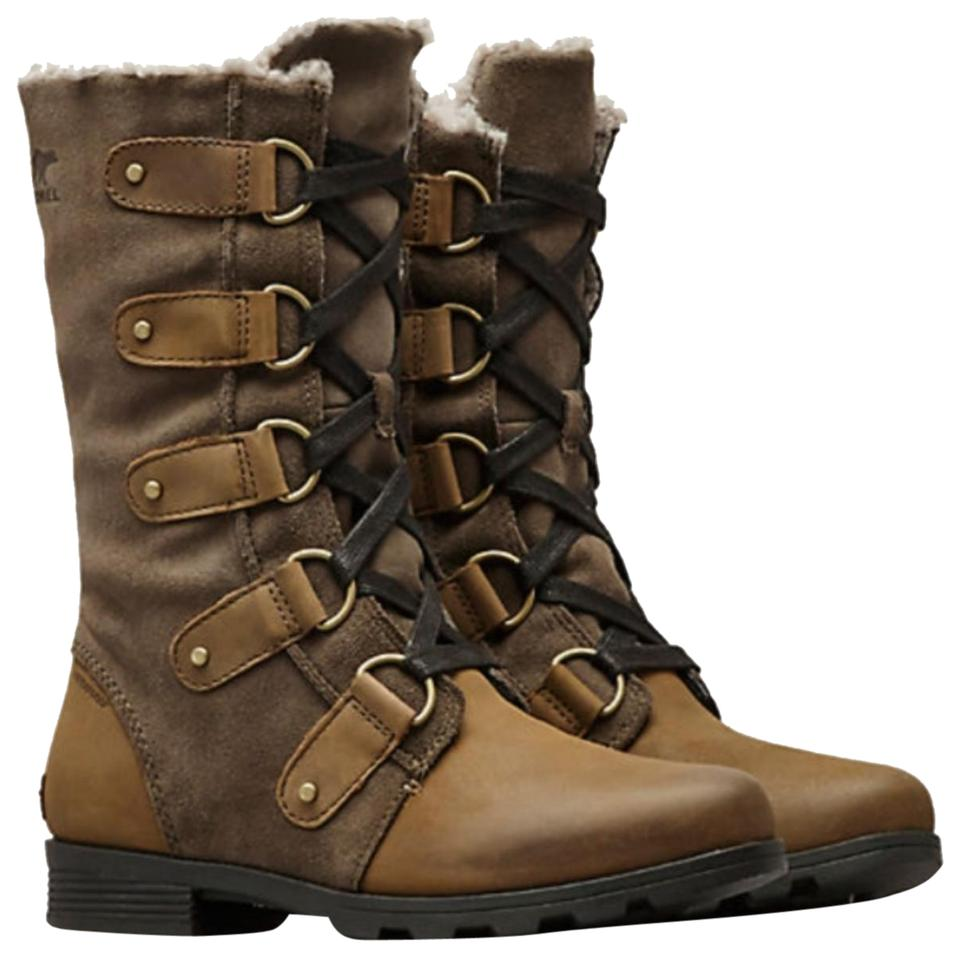 dde7afd8f2d Sorel Taupe Emelie Lace Boots/Booties Size US 6.5 Regular (M, B) 36% off  retail