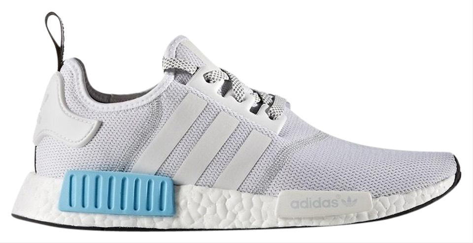 brand new 80ee4 375a0 adidas White/Grey & Light Blue Nmd Xr1 Sneakers Size US 5 Regular (M, B)  46% off retail