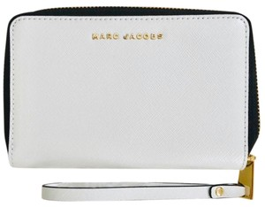 Marc Jacobs Color Block Blue Wristlet in Navy, Gray