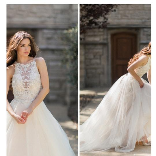 Maggie Sottero Ivory /Gold Lace Lisette By Vintage Wedding