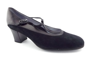 BeautiFeel Israel Heel Round Toe Comfy Earthy Black Pumps