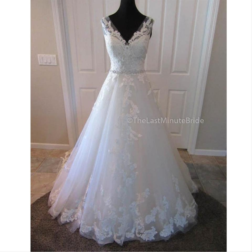 Vintage Wedding Dress Size 8: Maggie Sottero Antique Ivory Lace Sybil By Vintage Wedding