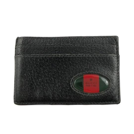 Preload https://img-static.tradesy.com/item/24910569/gucci-black-leather-card-holder-wallet-0-0-540-540.jpg