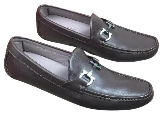 Item - Brown 'barlett' Driver Loafer Mens E Formal Shoes Size US 10 Extra Wide (Ww, Ee)