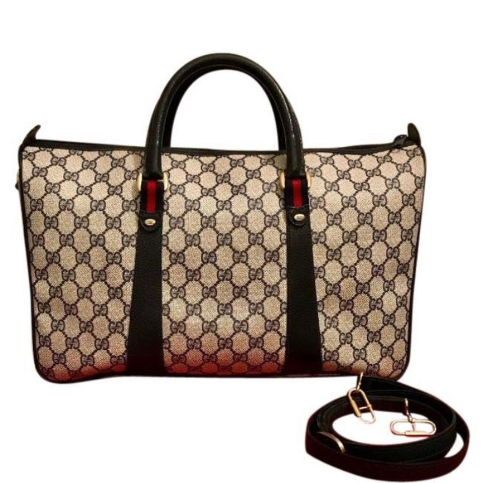 f93d9e2e1ed Gucci Boston Reserved Vintage Gg Supreme Duffle Satchel Weekender ...