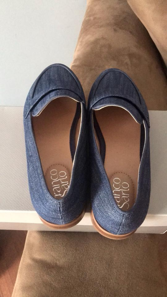 e88dcf7b75b Franco Sarto Blue Loafers Flats Size US 7.5 Regular (M
