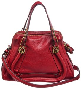 Chloé Satchel in Red