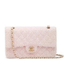 Chanel Tweed Classic Flap Shoulder Bag