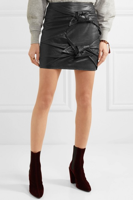 toile Isabel Marant Mini Skirt black