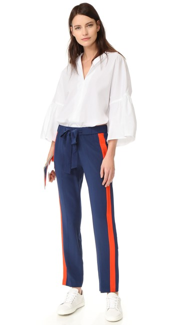 Preload https://img-static.tradesy.com/item/24911668/tory-burch-navy-blue-desmond-color-block-silk-33830-pants-size-4-s-27-0-0-650-650.jpg