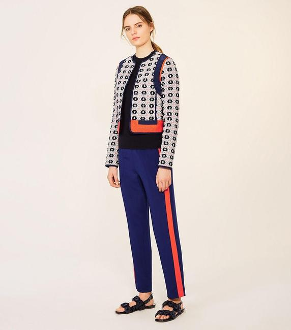 Tory Burch Straight Pants navy